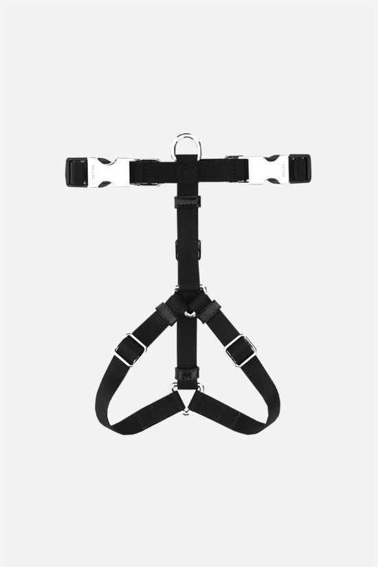 PRADA: nylon pet harness Color Black_2