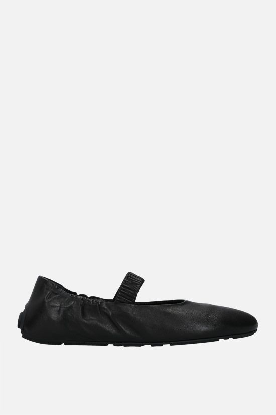 PRADA: soft nappa ballerinas Color Black_1