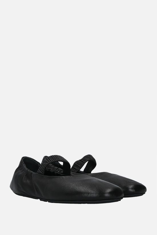 PRADA: soft nappa ballerinas Color Black_2