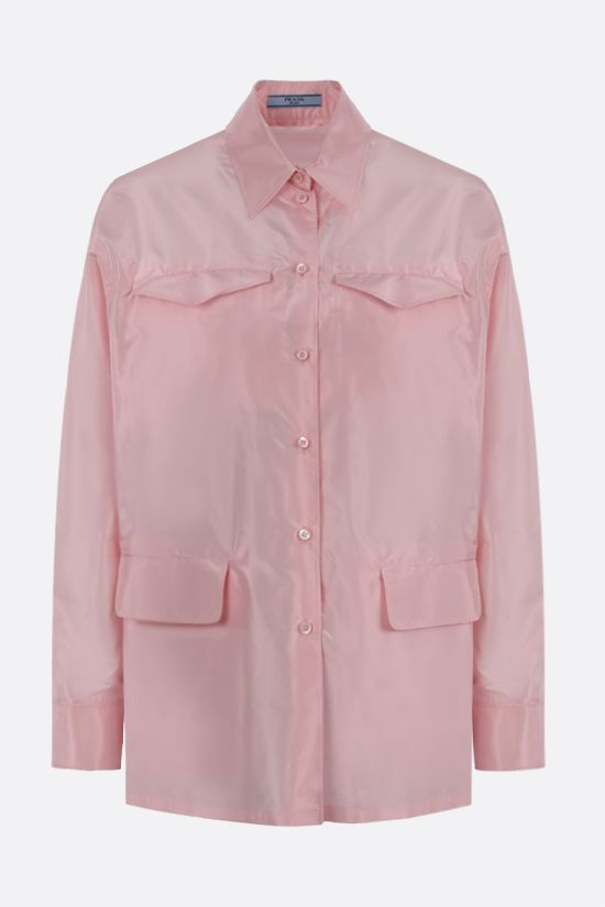 PRADA: taffeta shirt Color Red_1
