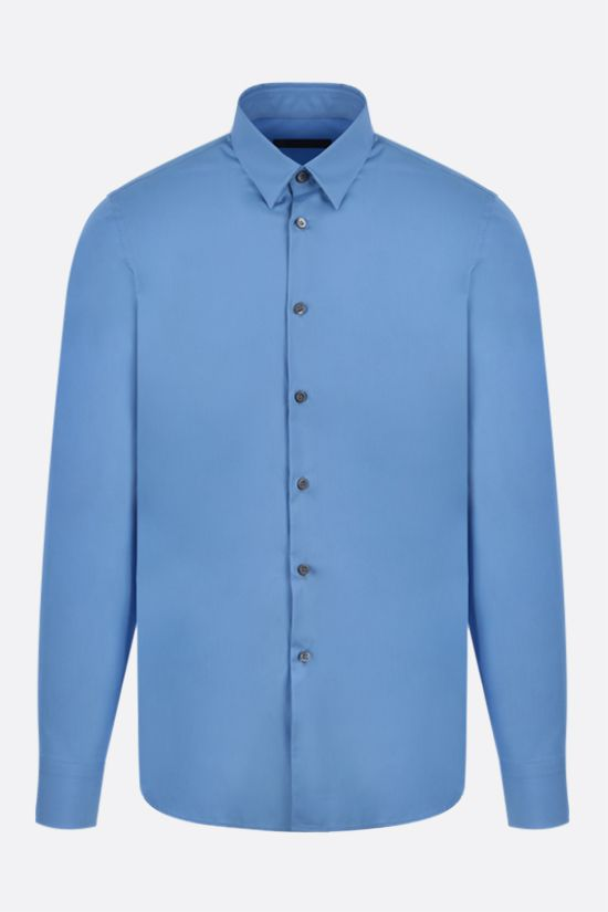 PRADA: camicia regular-fit in cotone Colore Blu_1