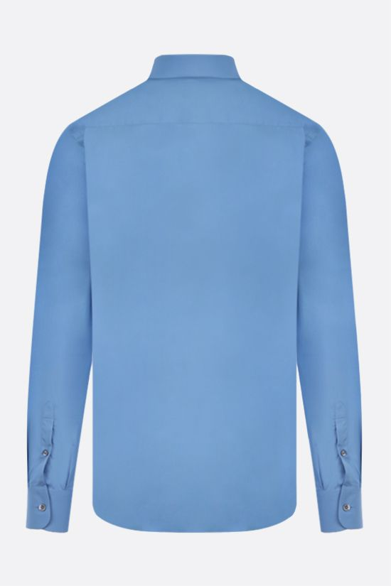 PRADA: camicia regular-fit in cotone Colore Blu_2