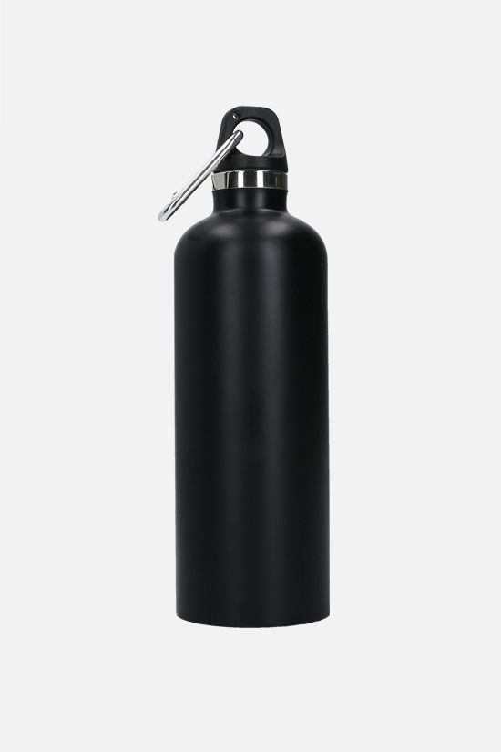 PRADA: 50 ml stainless steel water bottle Color Black_2