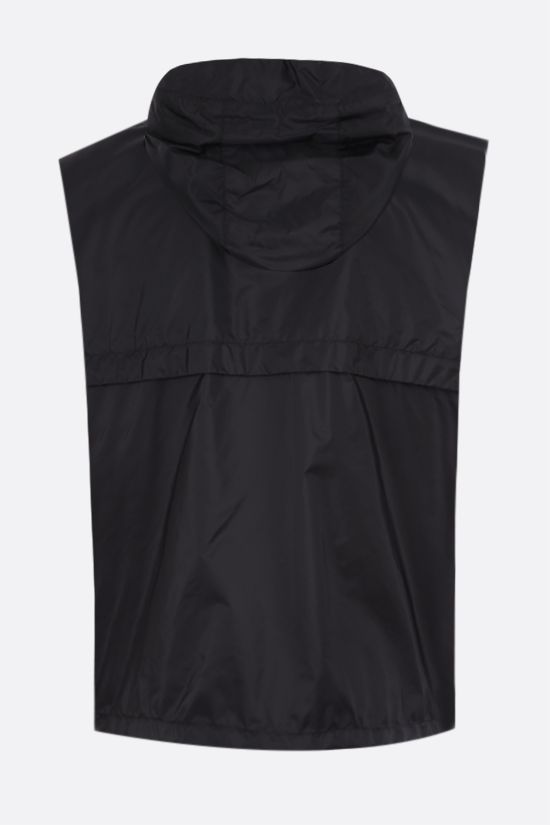 PRADA: logo-detailed Re-Nylon vest Color Multicolor_2