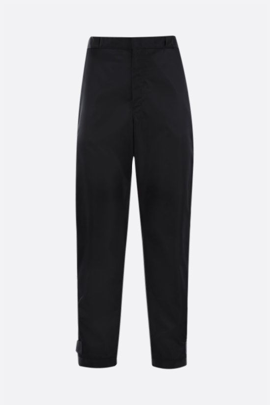 PRADA: pantalone in Re-Nylon con logo Colore Nero_1