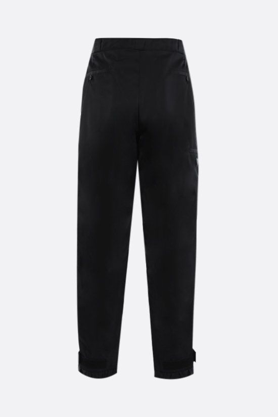 PRADA: pantalone in Re-Nylon con logo Colore Nero_2