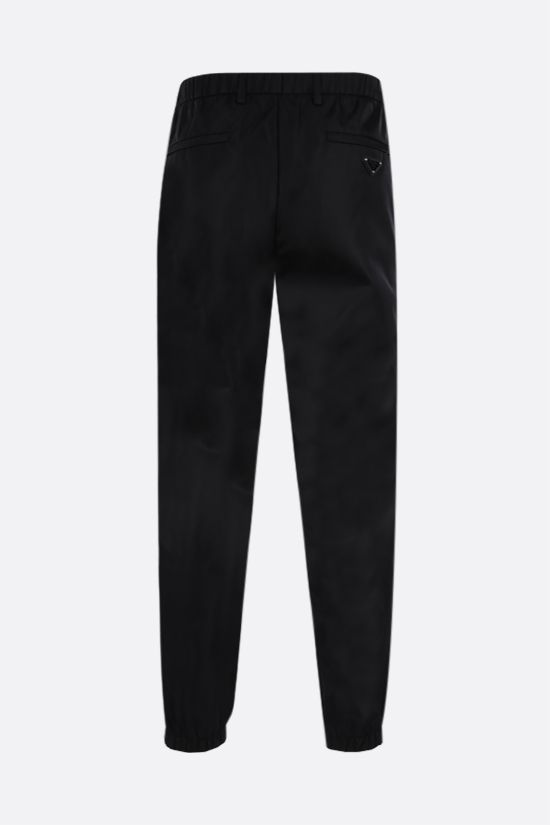 PRADA: pantalone jogging in Re-Nylon Colore Nero_2