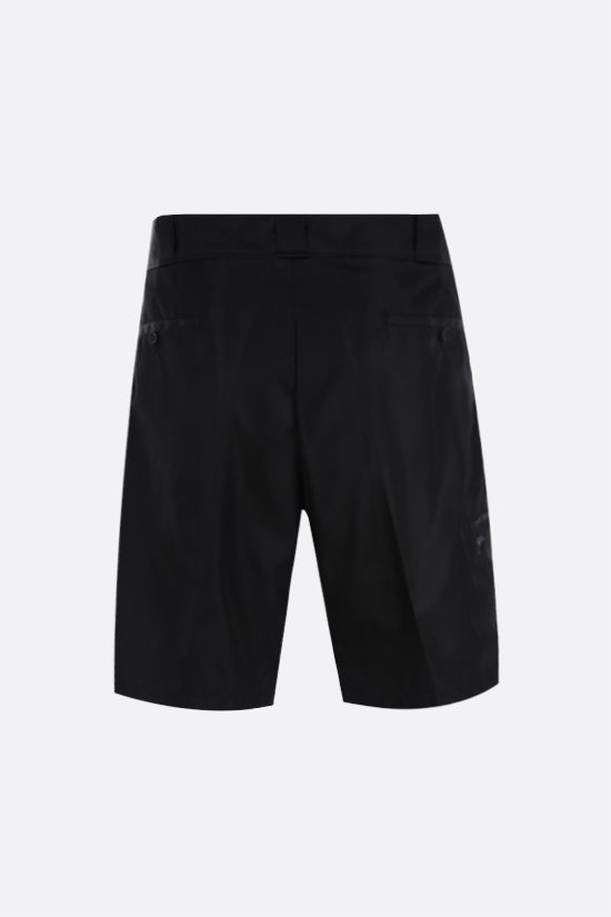 PRADA: pantalone corto in Re-Nylon Colore Nero_2