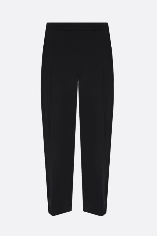 PRADA: stretch technical fabric cropped pants Color Black_1