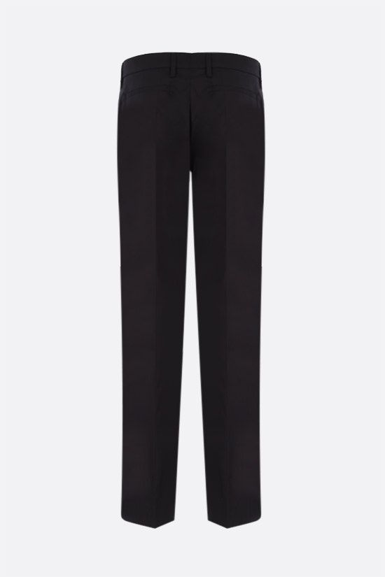 PRADA: stretch poplin cropped pants Color Black_2