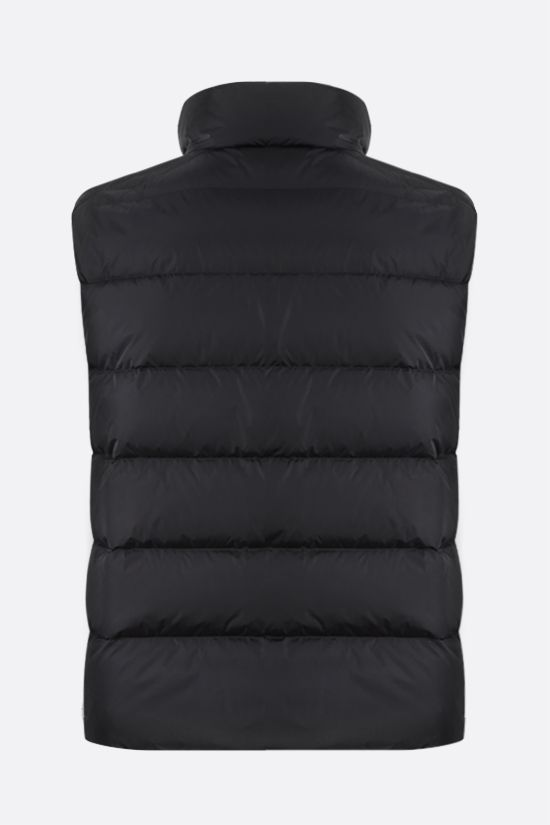 PRADA: Re-Nylon sleeveless down jacket Color Black_2