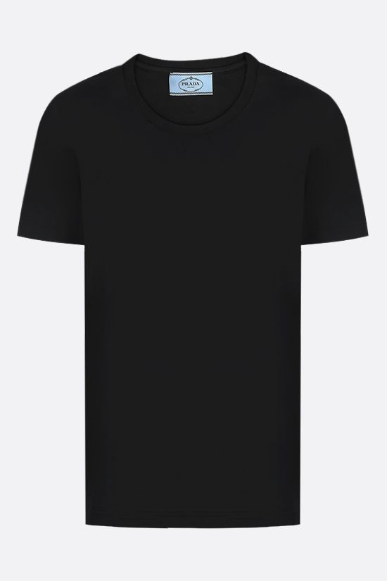PRADA: 3 t-shirt pack in cotton jersey Color Black_2