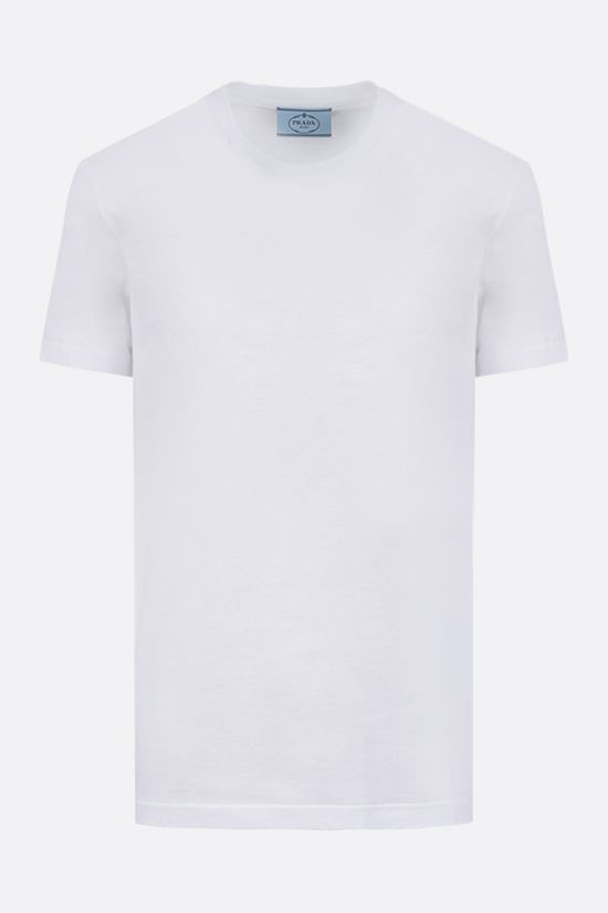PRADA: 3 t-shirt pack in cotton jersey Color White_2