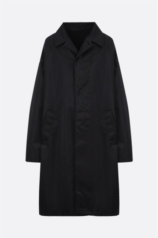PRADA: oversize Re-Nylon raincoat Color Black_1