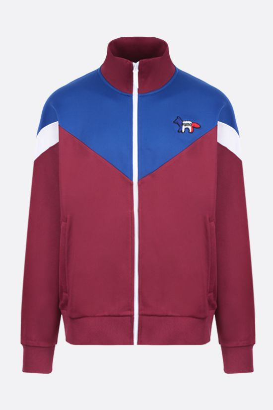 PUMA: Puma x Maison Kitsunè technical jersey tracksuit jacket Color Multicolor_1