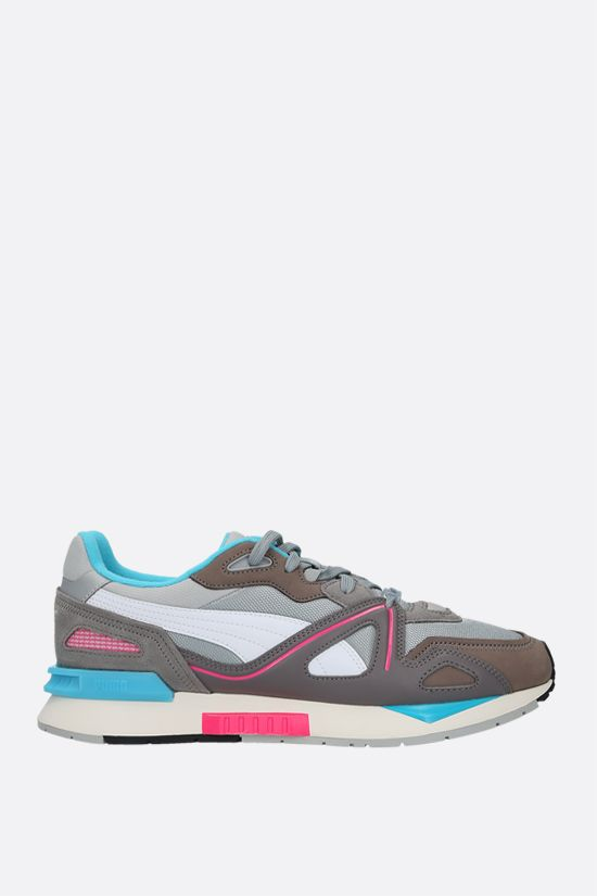 PUMA: Mirage Mox sneakers in mesh and nabuk Color Grey_1
