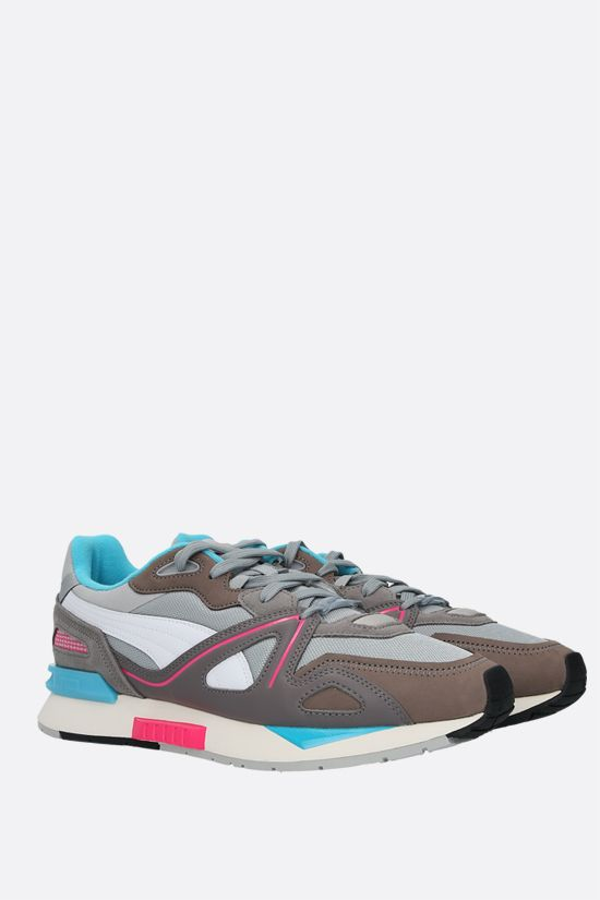 PUMA: Mirage Mox sneakers in mesh and nabuk Color Grey_2