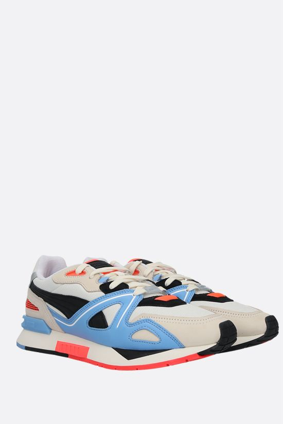 PUMA: Mirage Mox sneakers in mesh and nabuk Color Red_2