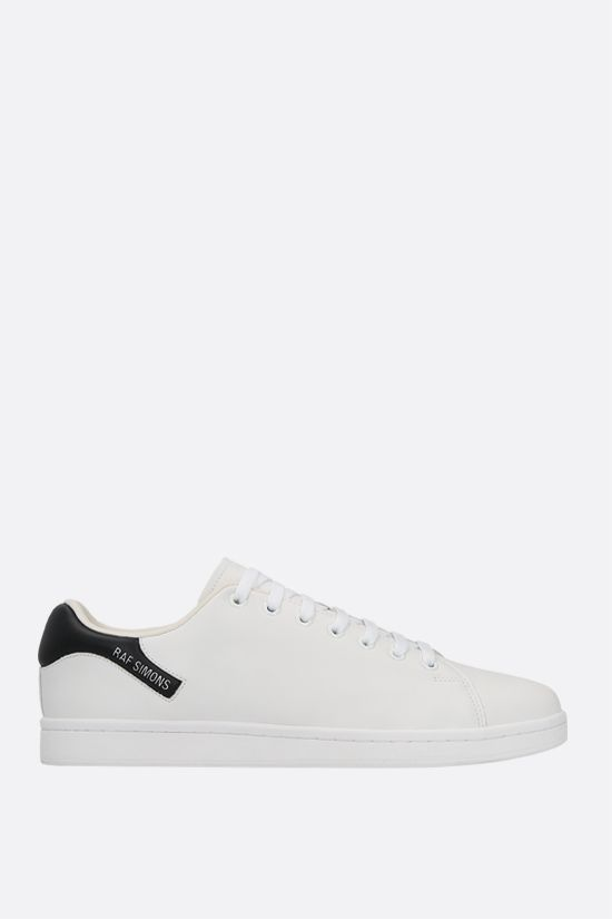 RAF SIMONS: sneaker Orion in ecopelle Colore Bianco_1