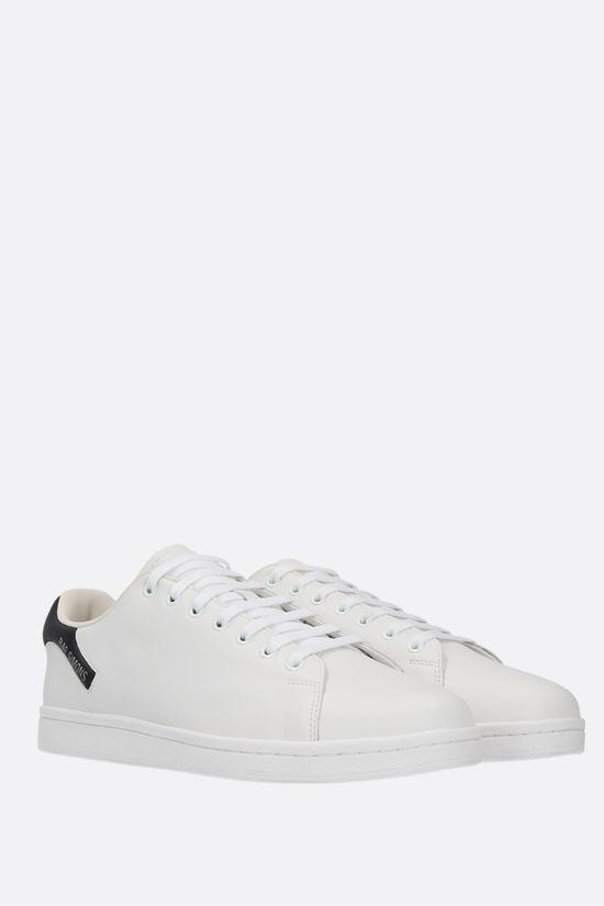 RAF SIMONS: Orion faux leather sneakers Color White_2