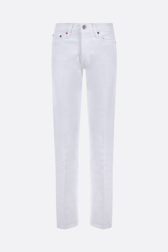 RE/DONE: jeans High Rise Loose Colore Bianco_1