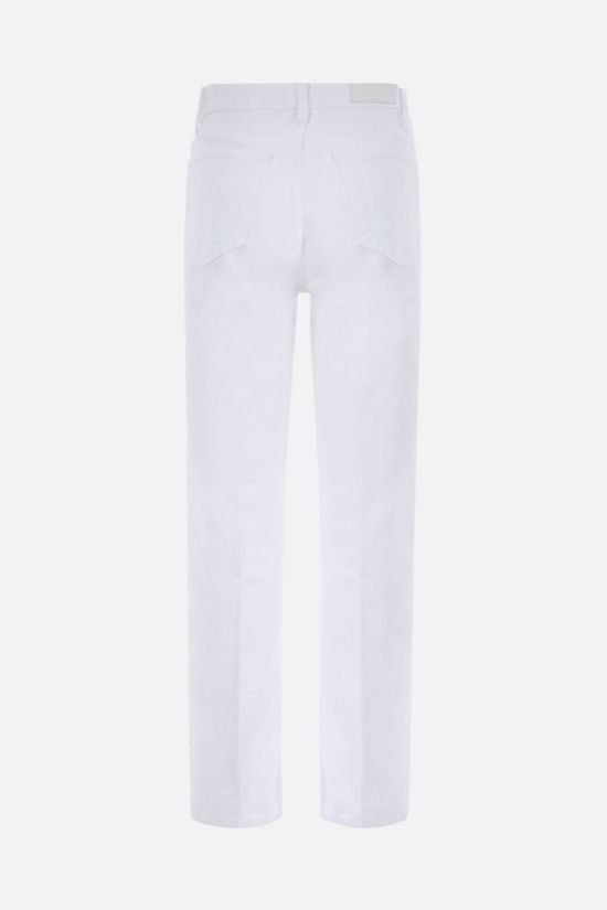 RE/DONE: jeans High Rise Loose Colore Bianco_2