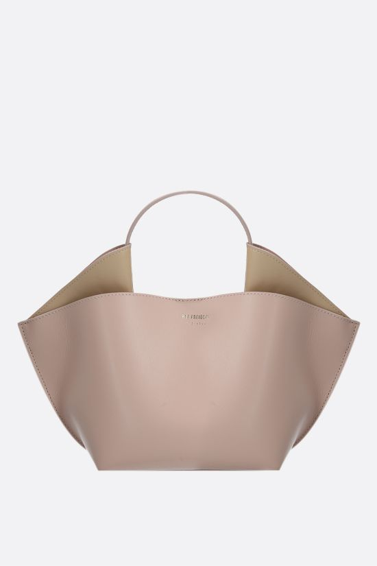 REE PROJECTS: Ann mini smooth leather tote bag Color Neutral_1