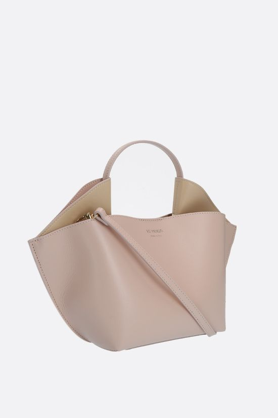 REE PROJECTS: Ann mini smooth leather tote bag Color Neutral_2