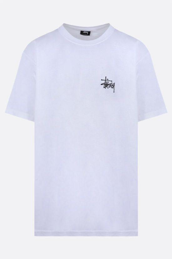 STUSSY: Peace Sign cotton t-shirt Color White_1