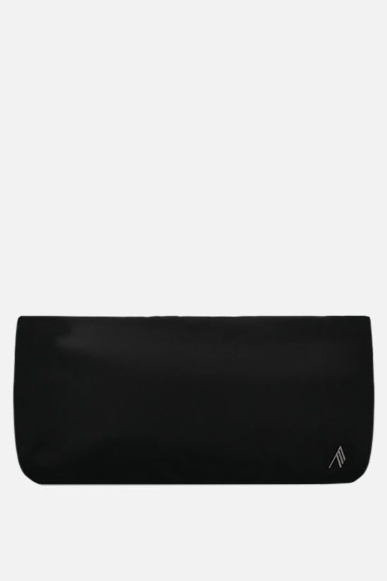 THE ATTICO: Wynona nylon handbag Color Black_1