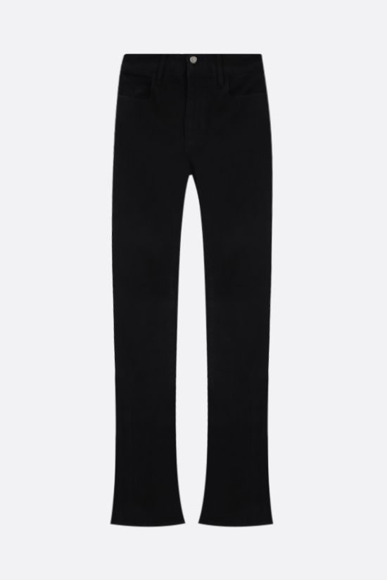 THE ATTICO: flared skinny jeans Color Black_1