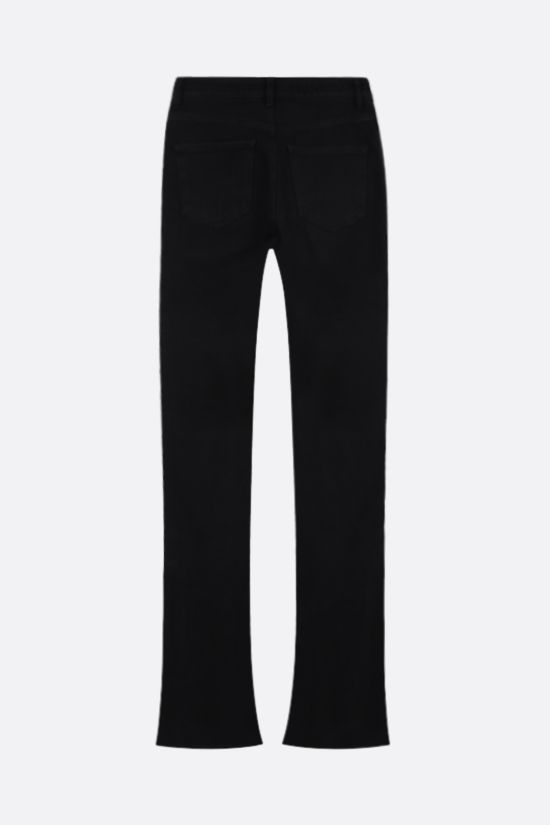THE ATTICO: flared skinny jeans Color Black_2