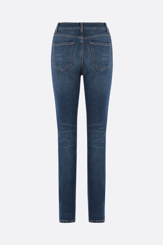THE ATTICO: jeans skinny-fit Colore Blu_2