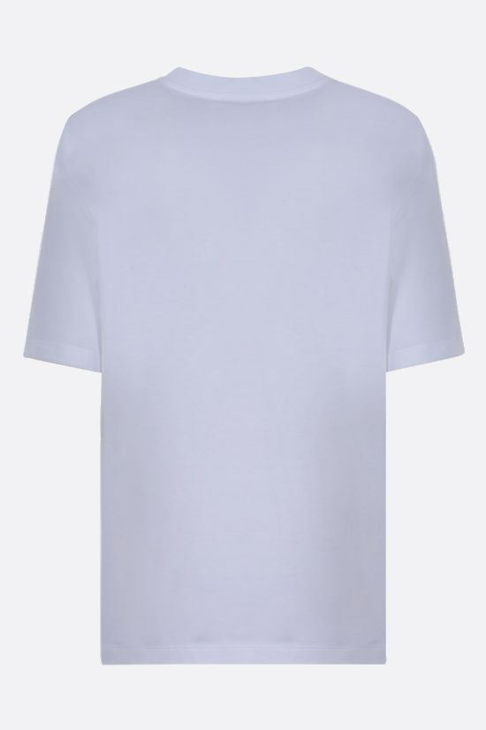 THE ATTICO: Bella cotton t-shirt Color White_2