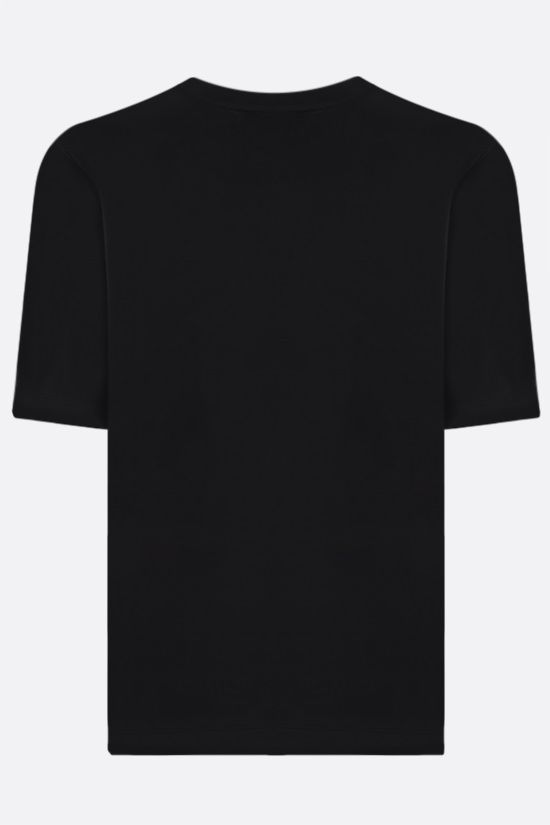 THE ATTICO: Bella cotton t-shirt Color Black_2
