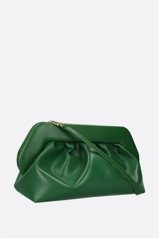 THEMOIRè: Bios soft faux leather clutch Color Green_2