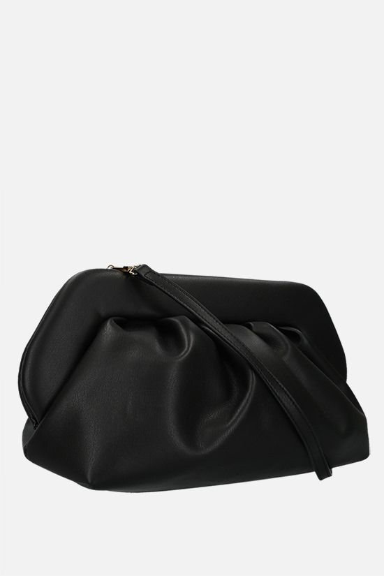 THEMOIRè: Bios soft faux leather clutch Color Black_2