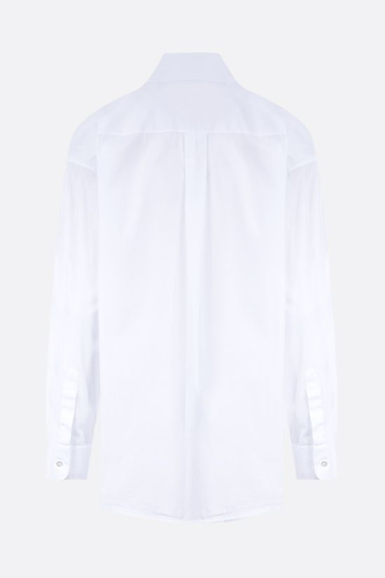 THE ROW: Gilles oversize cotton shirt Color White_2