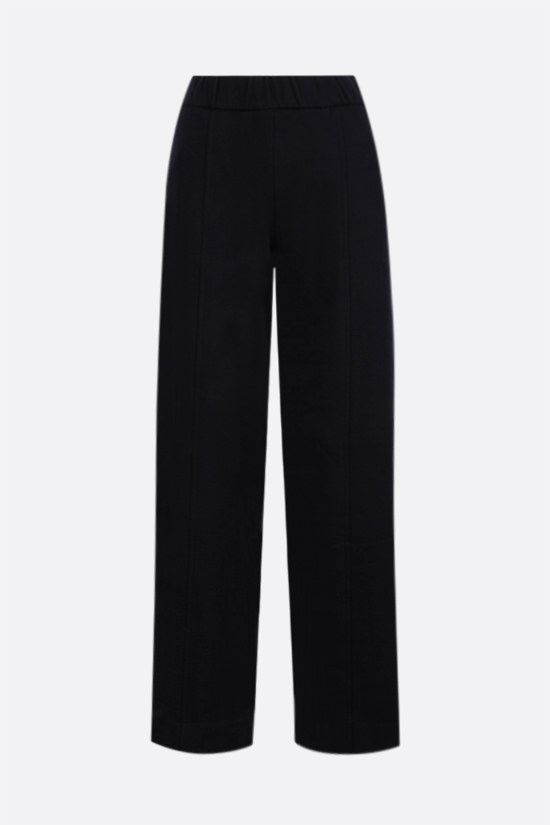 THE ROW: Cesto cotton wide-leg joggers Color Blue_1
