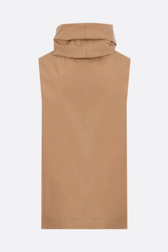 THE ROW: Galya cotton sleeveless top Color Neutral_2