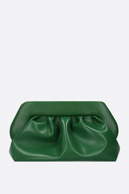 THEMOIRè: Bios soft faux leather clutch Color Green_1