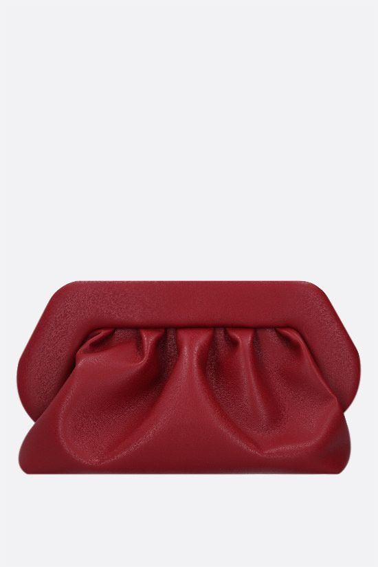 THEMOIRè: Bios soft faux leather clutch Color Red_1