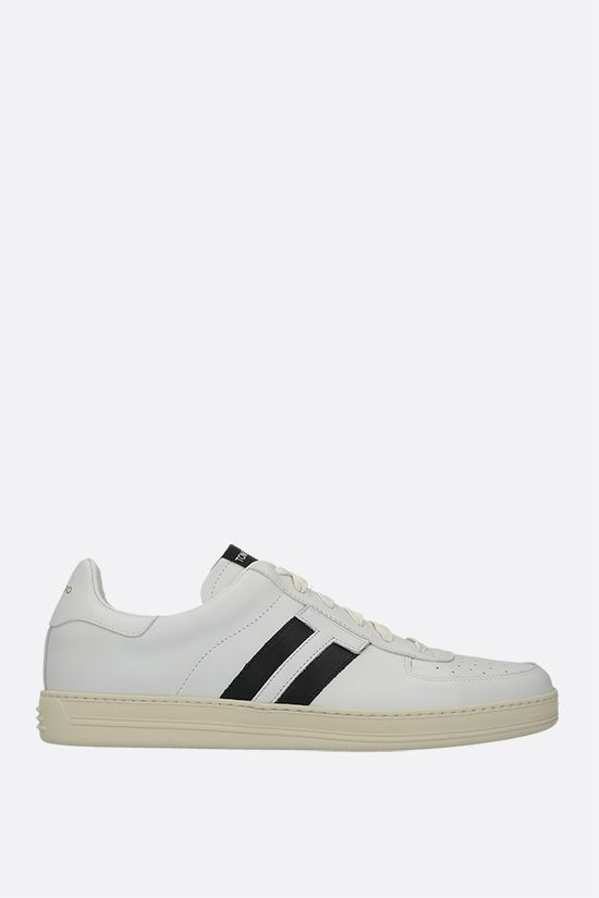 TOM FORD: Radcliffe smooth leather sneakers Color White_1