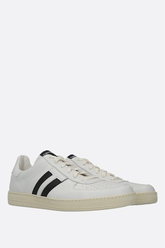 TOM FORD: Radcliffe smooth leather sneakers Color White_2