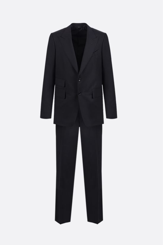 TOM FORD: Shelton wool two-piece suit Color Blue_1