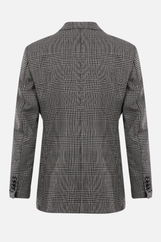 TOM FORD: O'Connor single-breasted wool silk blend jacket Color Black_2