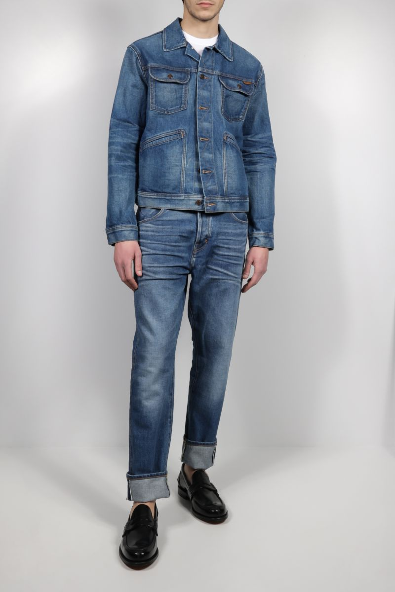 TOM FORD: tapered-fit jeans Color Blue_2