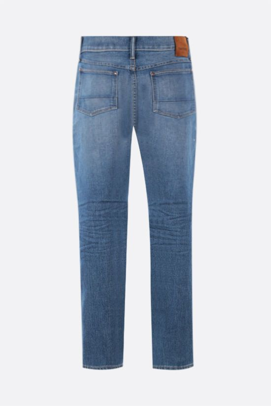 TOM FORD: jeans tapered-fit Colore Blu_2