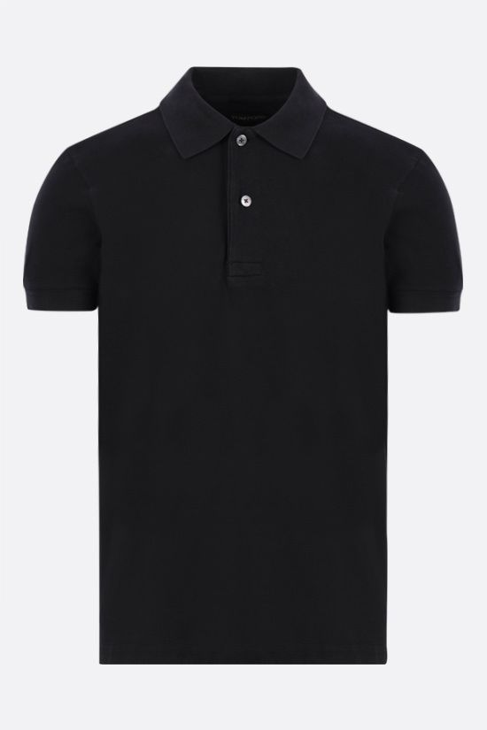 TOM FORD: polo in cotone Colore Blu_1