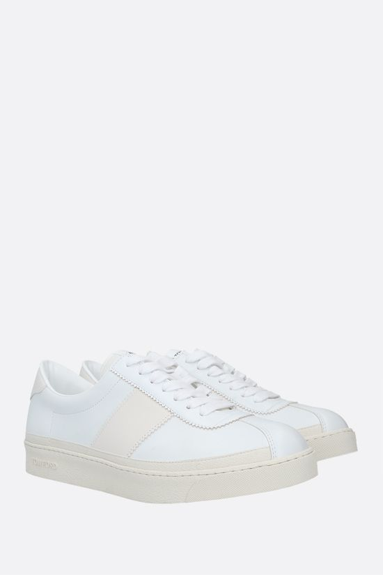 TOM FORD: Bannister smooth leather sneakers Color White_2